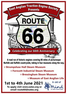 Route 66 - Celebrating EATES 66th anniversary